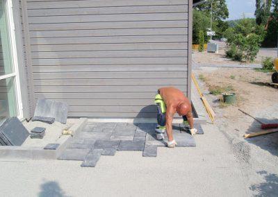 Granitplattor